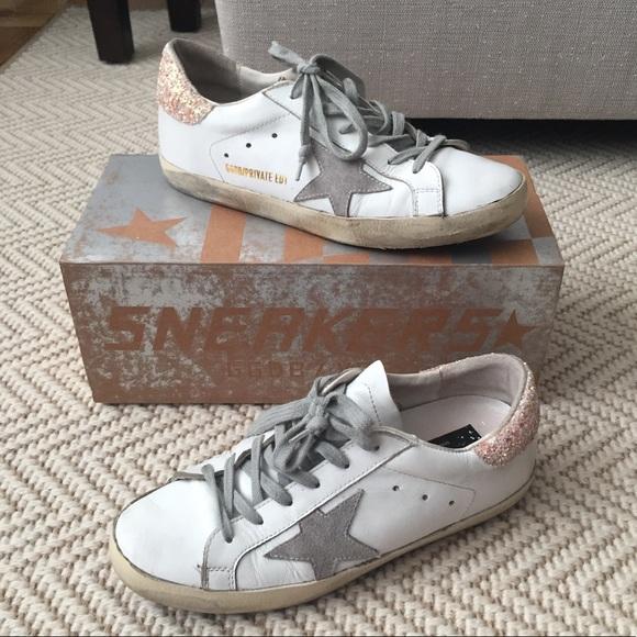 fce4f245290d Golden Goose Shoes - Golden Goose SSENSE Superstar Glitter Sneakers 7